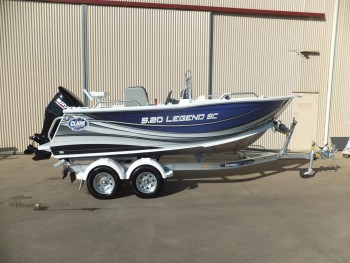2018 CLARK 520 LEGEND ALUMINIUM FISHING