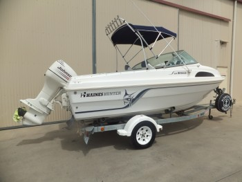 2003 HAINES HUNTER 530 BREEZE
