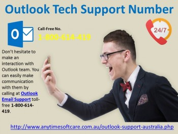 Outlook Tech Support Number 1-800-614-41