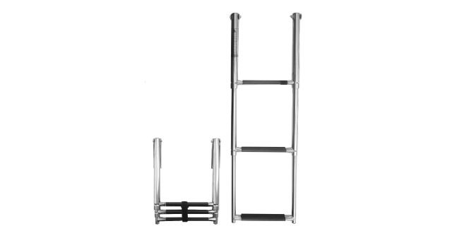 Stainless Steel 2-3 Step Telescopic Ladd