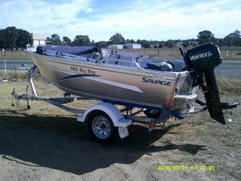 2013 SAVAGE 385 BIG BOY FOR SALE