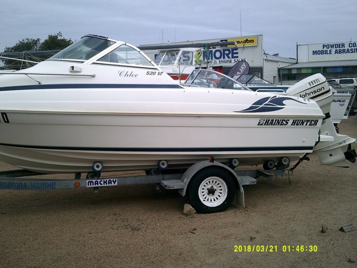 1995 HAINES HUNTER 520SF FOR SALE