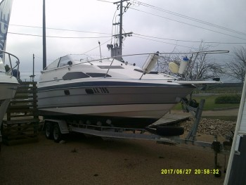 1991 BAYLINER SUNBRIDGE 2455 FOR SALE