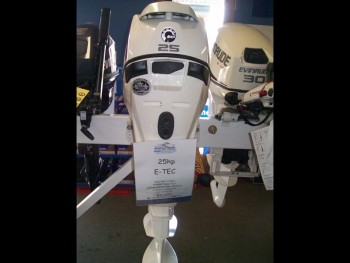 2015 EVINRUDE 25DTSL FOR SALE