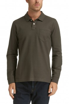 LONG SLEEVE PIMA COTTON POLO