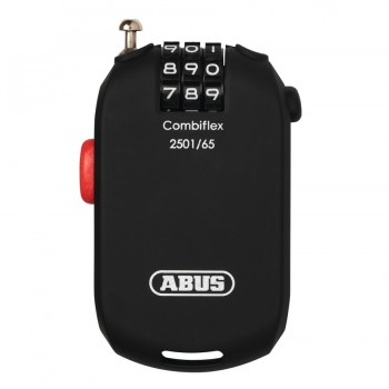 Abus Combiflex 2501 Combination Coil Loc