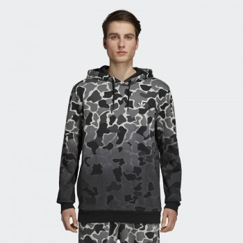 Camouflage Dip-Dyed Hoodie