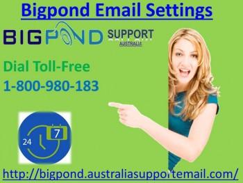 Bigpond Email Settings Number 1-800-980-
