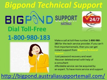 Easily Call Bigpond Technical  Support 1