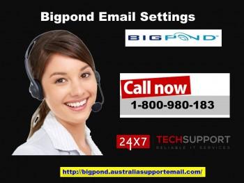 Bigpond Email Settings 1-800-980-183