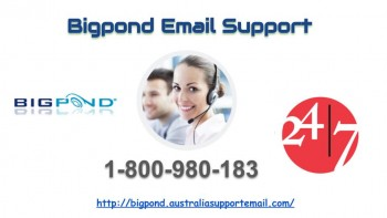 Sort out Technical hassle | Bigpond Email Support number 1-800-980-183
