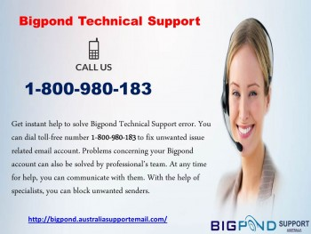 Bigpond Technical Support Call1800980183