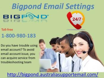 1-80098018 Bigpond Email Settings