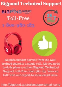 Bigpond Tech Support 1-800-980-183