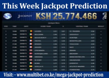 This Week Jackpot Prediction