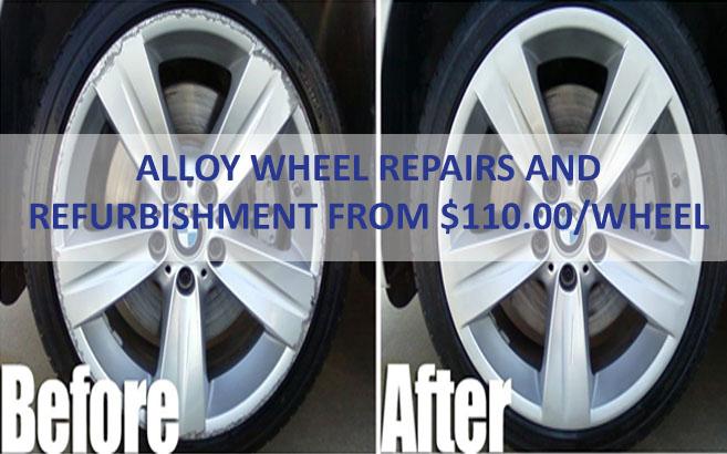 alloy wheel repa ...