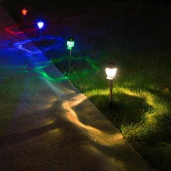 solar garden lights outdoor