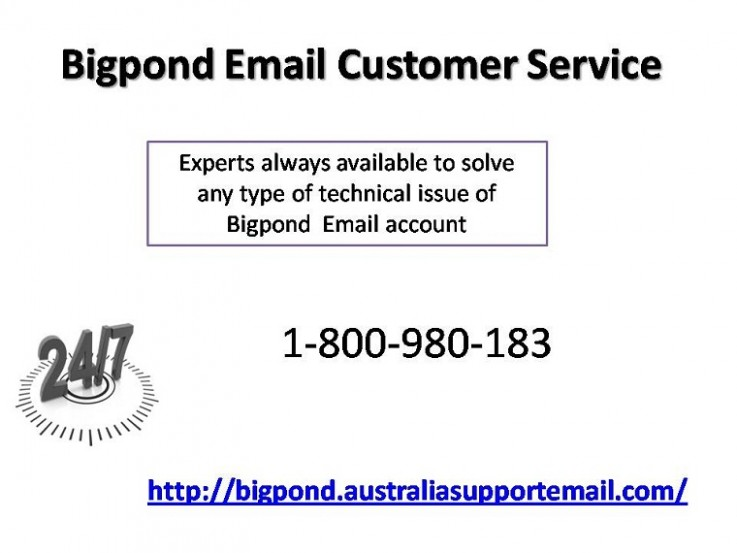 Bigpond Email Customer Service 1-800-980-183 Instant Support