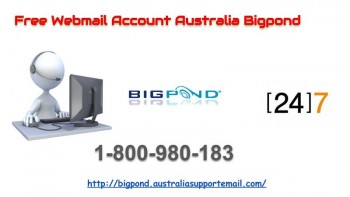 Reset Free Webmail Account Australia Bigpond Password without Payment at Toll-Free 1-800-980-183