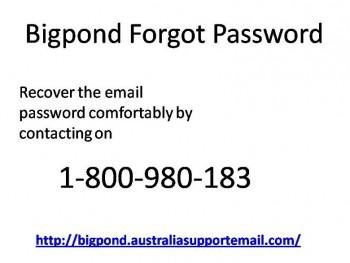 Bigpond Forgot Password 1-800-980-183 Quality Help