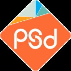 PSD Brand Design business card printer