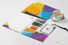 PSD Brand Design business card printer