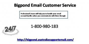 Bigpond Email Customer Service 1-800-980-183 Blocked Account Help