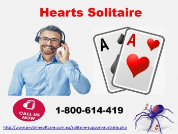 Hearts Solitaire 1-800-614-419