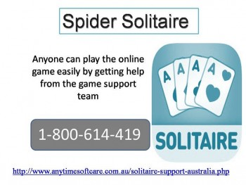 Best Services for Gaming from Spider Solitaire 1-800-614-419