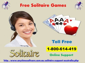 Free Solitaire Games 1-800-614-419