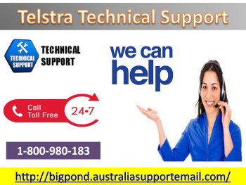 Obtain Solution To Telstra Technical Support Via 1-800-980-183