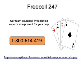 Efficient Solution Provider 1-800-614-419 FreeCell247