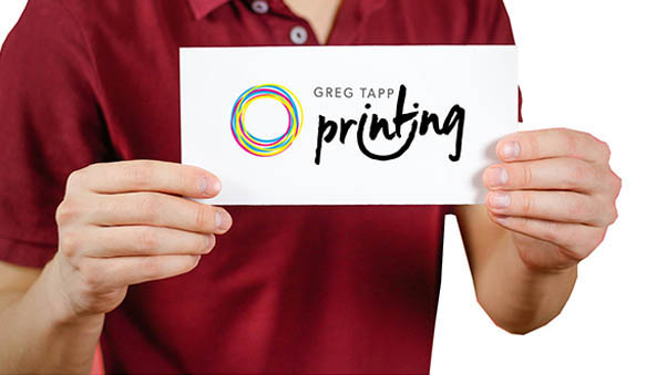Greg Tapp Printing business card template