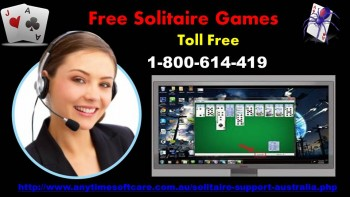 Free Solitaire Games  1-800- 614-419