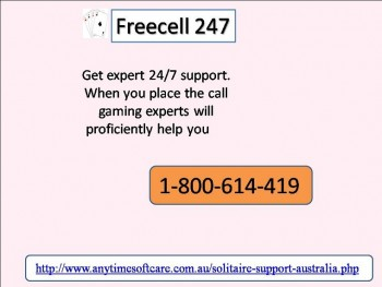 Acquire Trick And Tips To Play FreeCell 247 Smoothly 1-800-614-419
