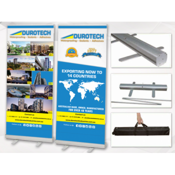Retractable Pull Up Display Banners Printing in Sydney