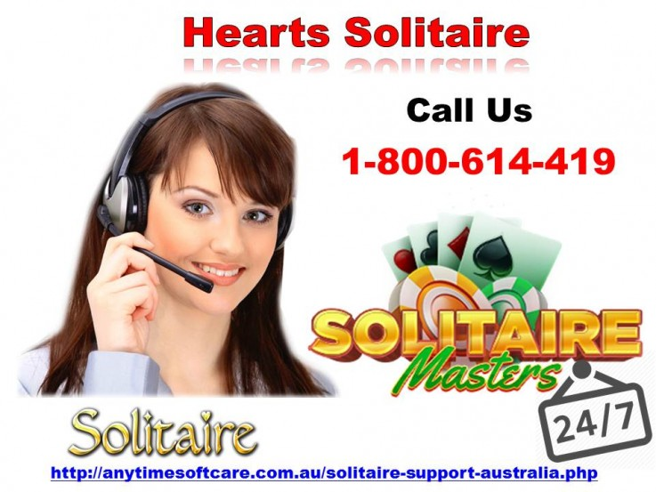 Hearts Solitaire Game| Dial 1800614419
