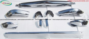BMW 2002 bumper short stainless steel