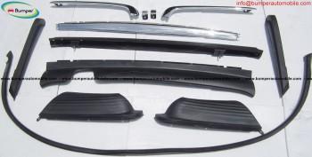 Mercedes SL W107 bumper stainless steel