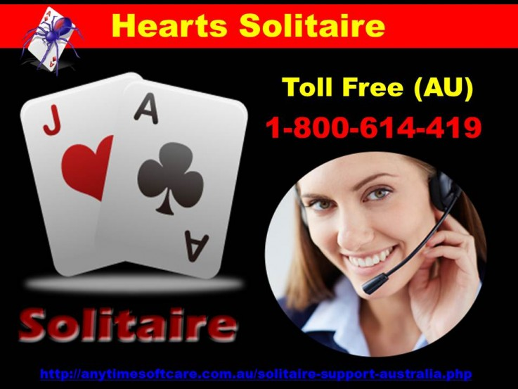 Hearts Solitaire ? 1-800-614-419