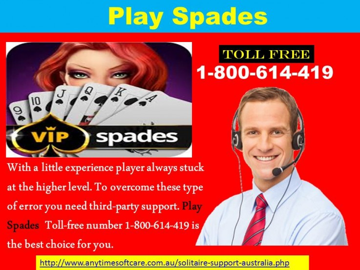 Play Spades  1-800-614-419