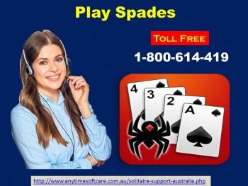 Play Offline Spade Game 1-800-614-419