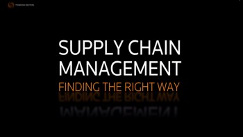Get Help With Supply Chain Management As