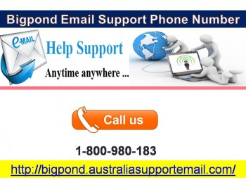 Bigpond Email Support Phone Number   1-800-980-183  Fix Tech Fault