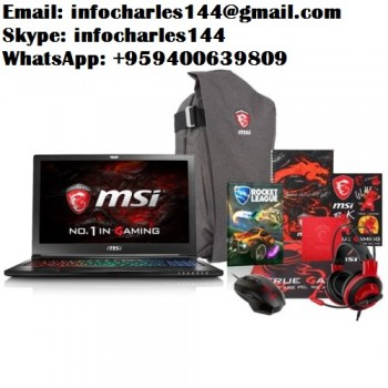 MSI ge62vr G-Series Black i7-6700hq 1tb