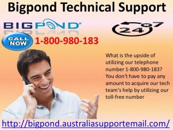 Bigpond Technical Support Via 1800980183