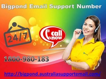 Bigpond Email Support Number 1-800980183