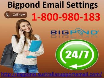 Bigpond Email Settings| 1-800-980-183