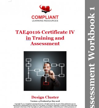 TAE40116 Certificate IV in Training Cluster Assessment Help
