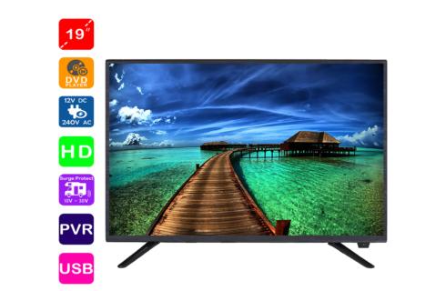 19 Inch  HD LED TV DVD